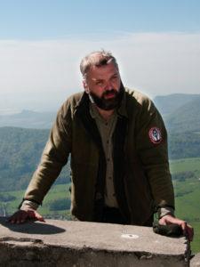 Daniel Pitek, dobrovolný strážce CHKO České středohoří. Foto: R. Studený