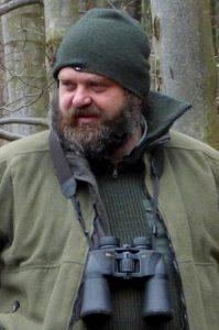 strážce CHKO České středohoří Daniel Pitek. Foto Ota Dračka