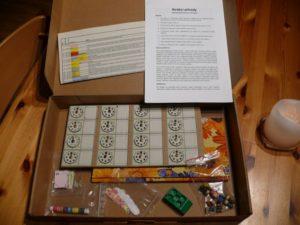 prototyp deskové hry Strážci přírody