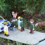 Strážci přírody a policista se sešli u kluka s divnou značkou