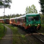 Petra postrkovaná Gagarinem - souprava GW Train