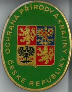 Odznak stráže přírody vzor 1992