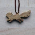 Přívěšek Běžící veverka