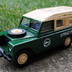 Land Rover III station Stráž přírody
