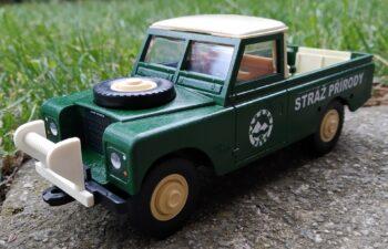 Land Rover III pick-up Stráž přírody