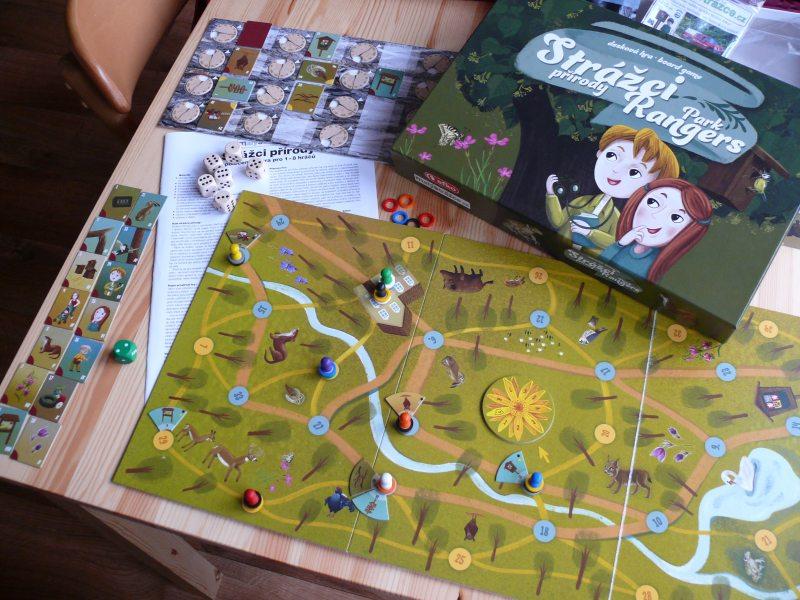 desková hra strážci přírody