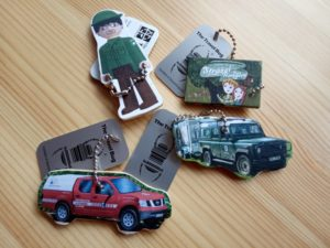 TravelBugy Malého strážce pro geocaching