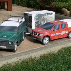 Nissan a Defender strážců přírody