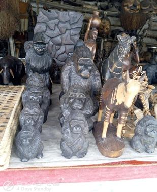 ručně vyráběné figurky zvířat