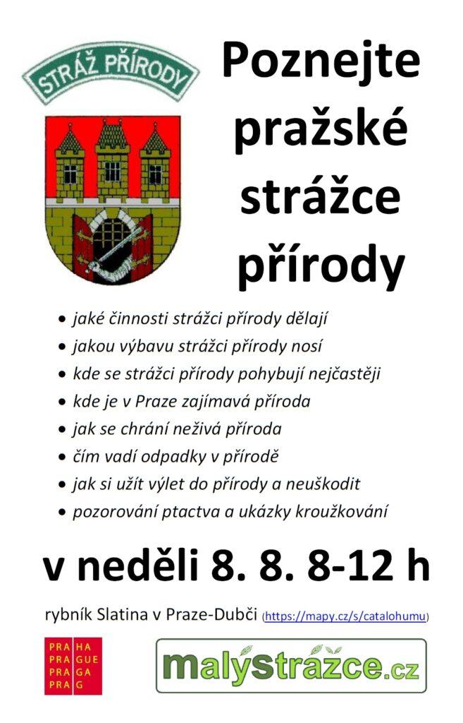 Pozvánka Světový den strážců přírody Praha 2021